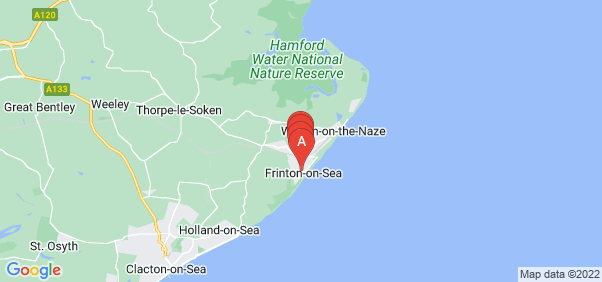 Google static map for Frinton On Sea
