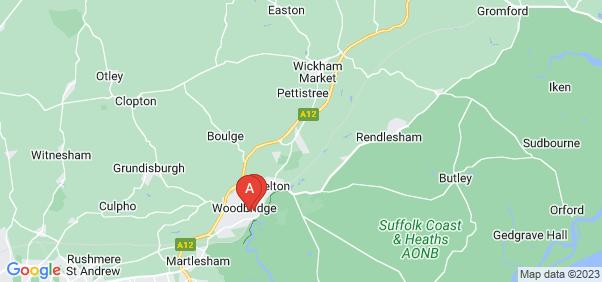 Google static map for Woodbridge