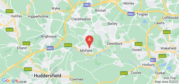 Google static map for Mirfield