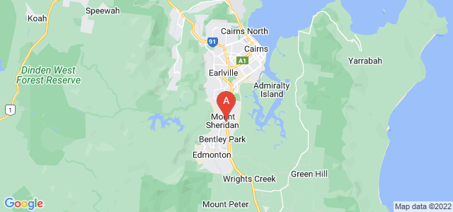 Google static map for Mount Sheridan