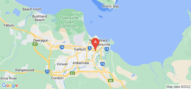 Google static map for Townsville