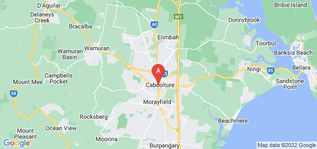 Google static map for Caboolture