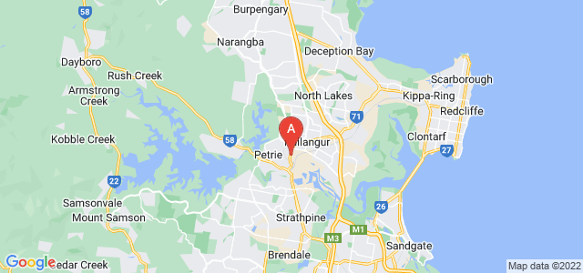 Google static map for Kallangur