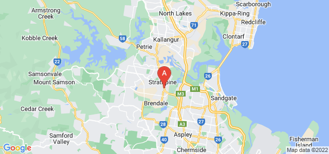 Google static map for Strathpine