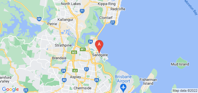 Google static map for Sandgate