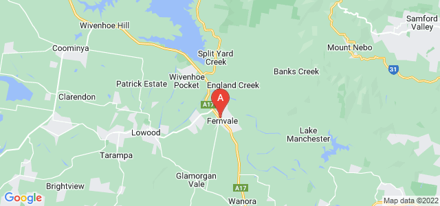Google static map for Fernvale