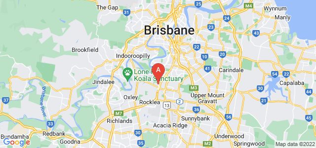 Google static map for Yeerongpilly