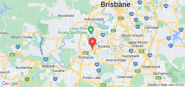 Google static map for Oxley