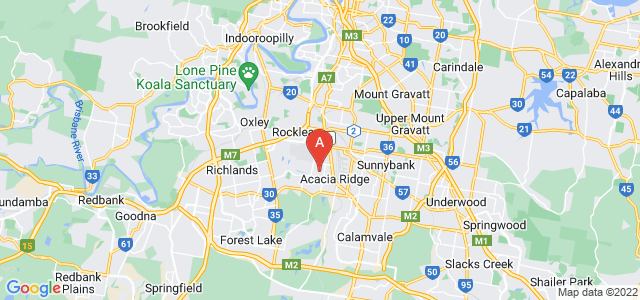Google static map for Acacia Ridge