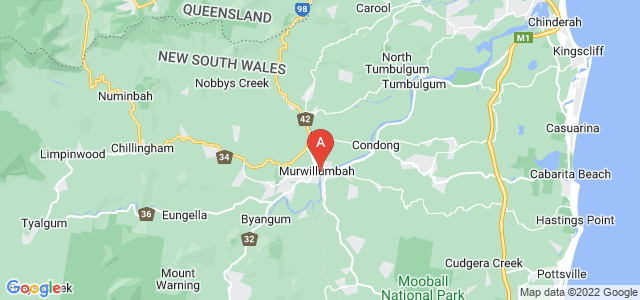 Google static map for Murwillumbah