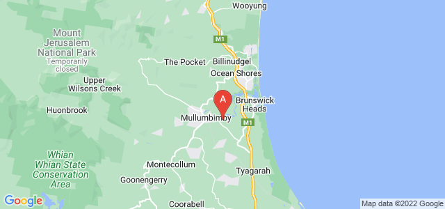 Google static map for Mullumbimby