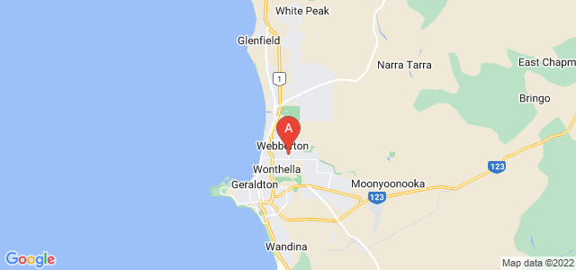 Google static map for Webberton