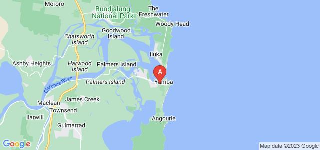 Google static map for Yamba