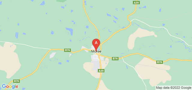 Google static map for Moree