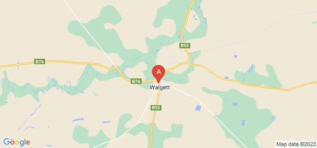 Google static map for Walgett