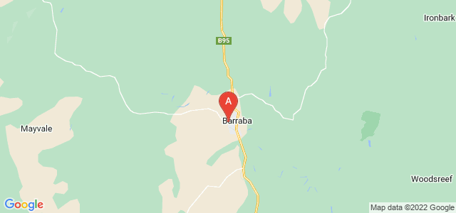 Google static map for Barraba