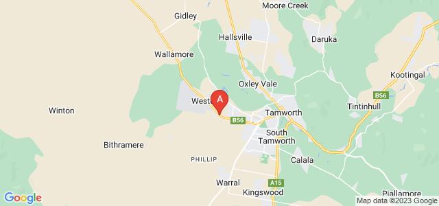 Google static map for Westdale