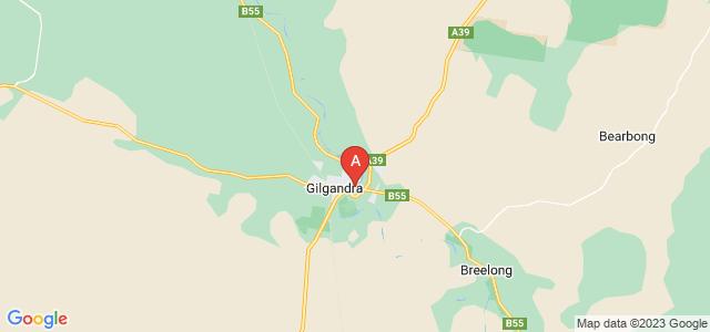 Google static map for Gilgandra