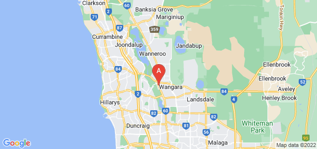 Google static map for Wangara