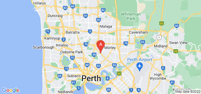 Google static map for Dianella