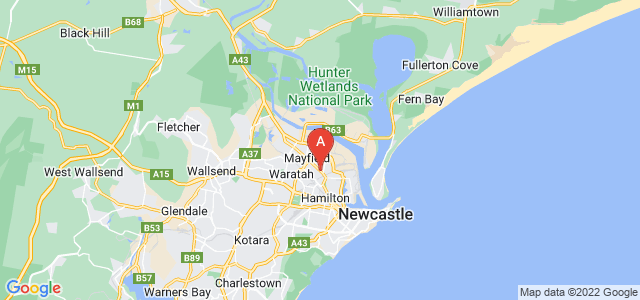 Google static map for Mayfield