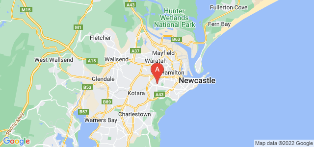 Google static map for Adamstown