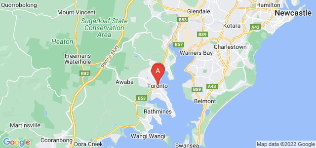 Google static map for Toronto