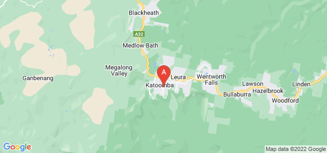 Google static map for Katoomba