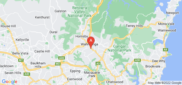 Google static map for Warrawee