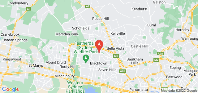 Google static map for Kings Park