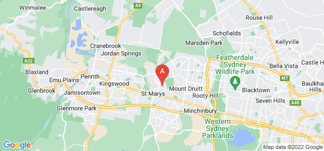 Google static map for North Saint Marys