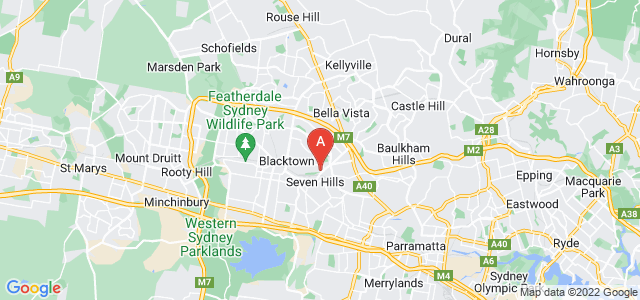 Google static map for Seven Hills