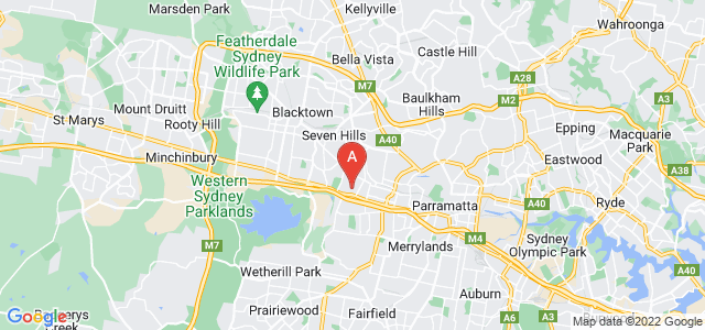 Google static map for Girraween
