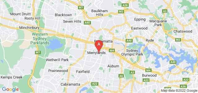 Google static map for Merrylands