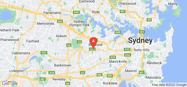Google static map for Burwood