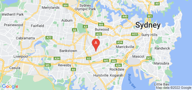 Google static map for Belmore