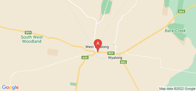Google static map for West Wyalong