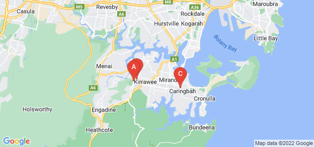 Google static map for Sutherland