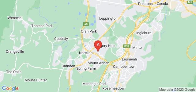 Google static map for Smeaton Grange