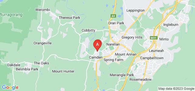 Google static map for Camden
