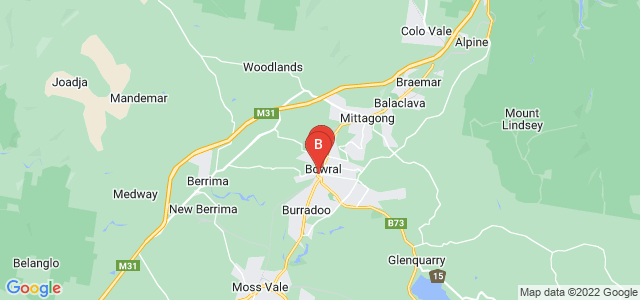 Google static map for Bowral