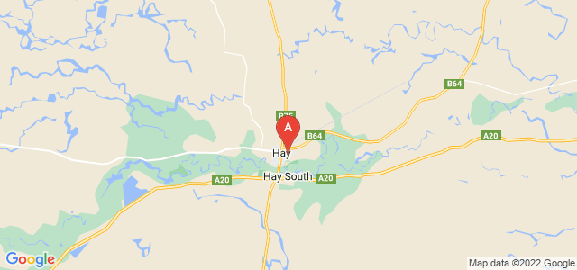 Google static map for Hay
