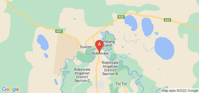 Google static map for Robinvale