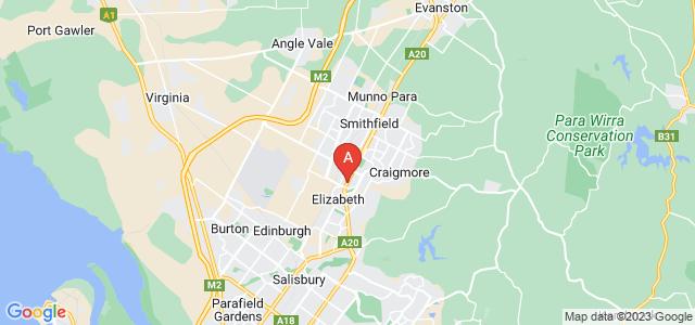 Google static map for Elizabeth Park