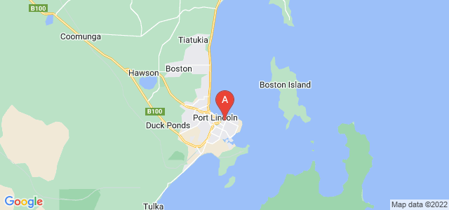 Google static map for Port Lincoln