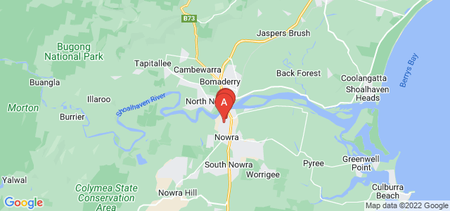 Google static map for Nowra
