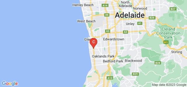 Google static map for Somerton Park