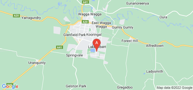 Google static map for Lake Albert