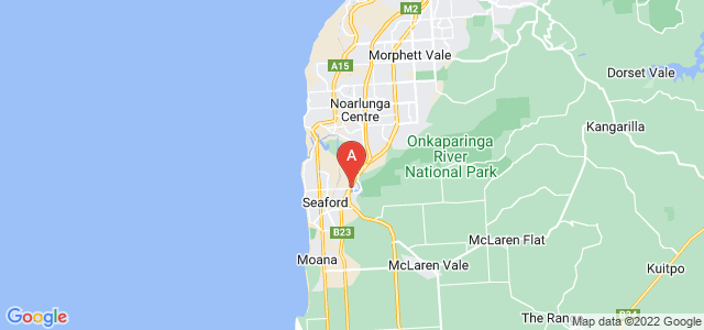 Google static map for Old Noarlunga