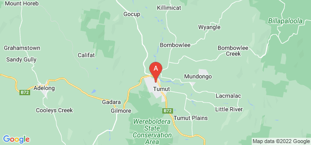 Google static map for Tumut